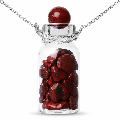 925 Sterling Silver Bottle Shape Charm Pendant Studded With