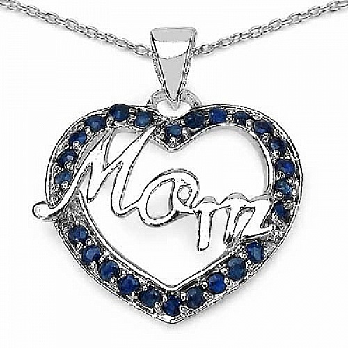 Mother's Day Special: 0.50CTW Genuine Blue Sapphire .925 Ste