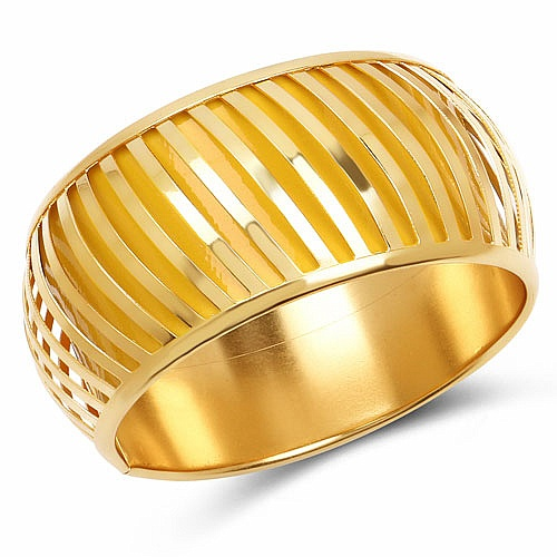 Yellow And Gold Toned Incredible Bangle For Women